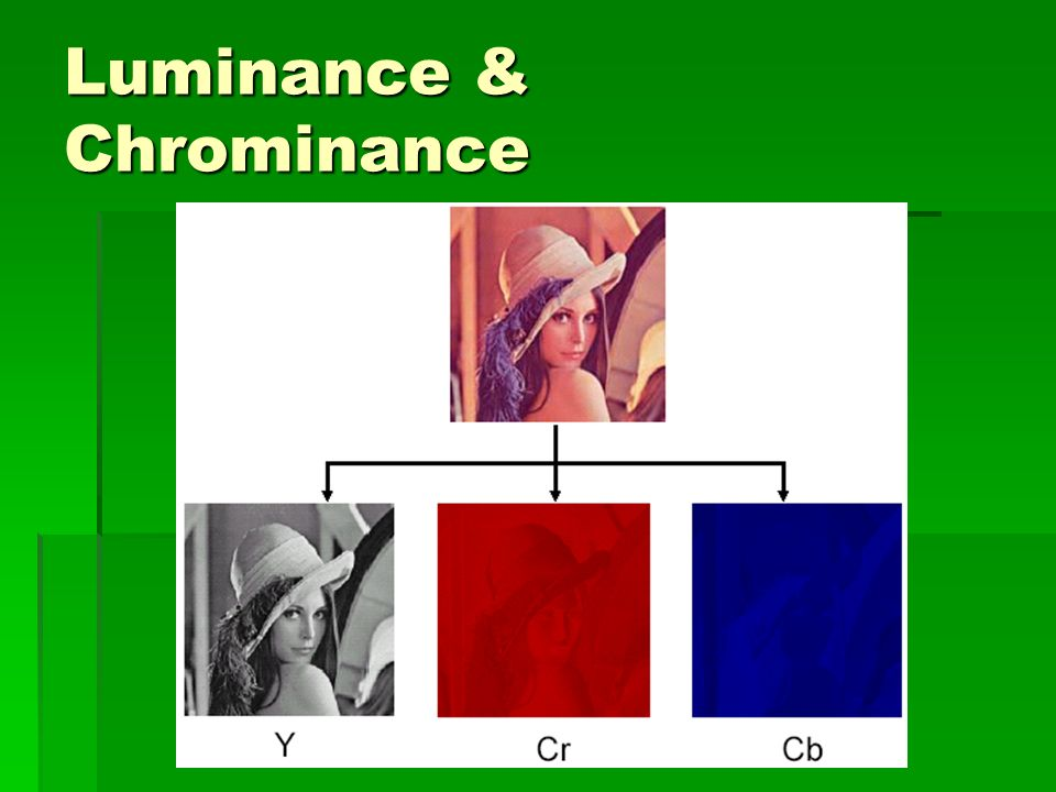 Luminance & Chrominance