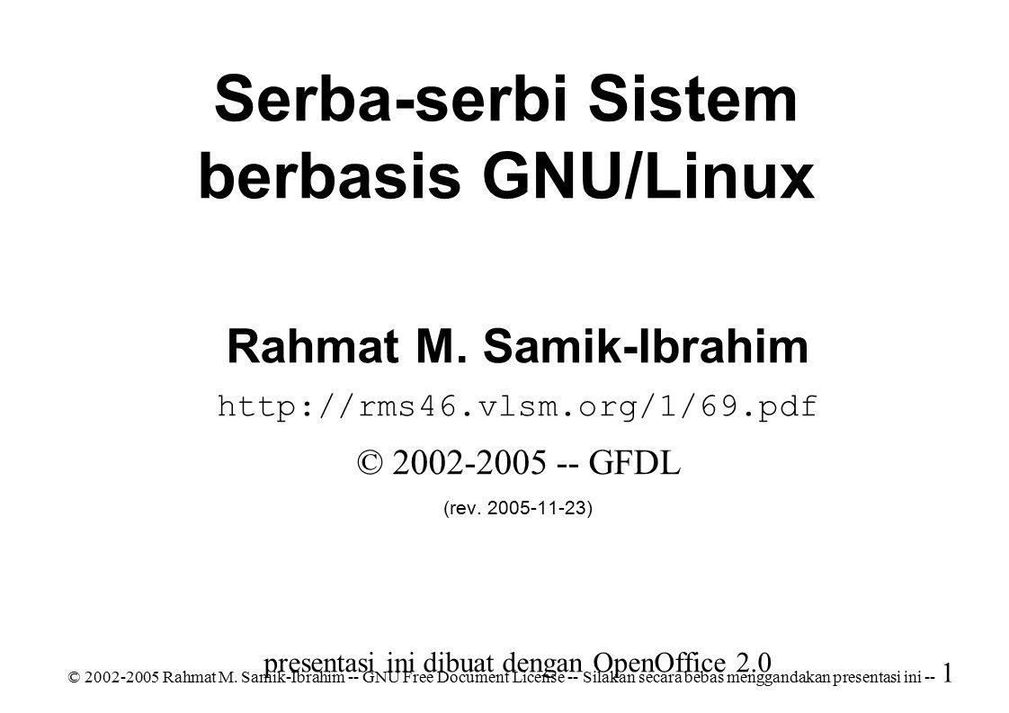 © 2002-2005 Rahmat M.