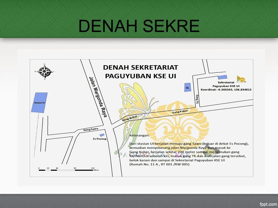 DENAH SEKRE