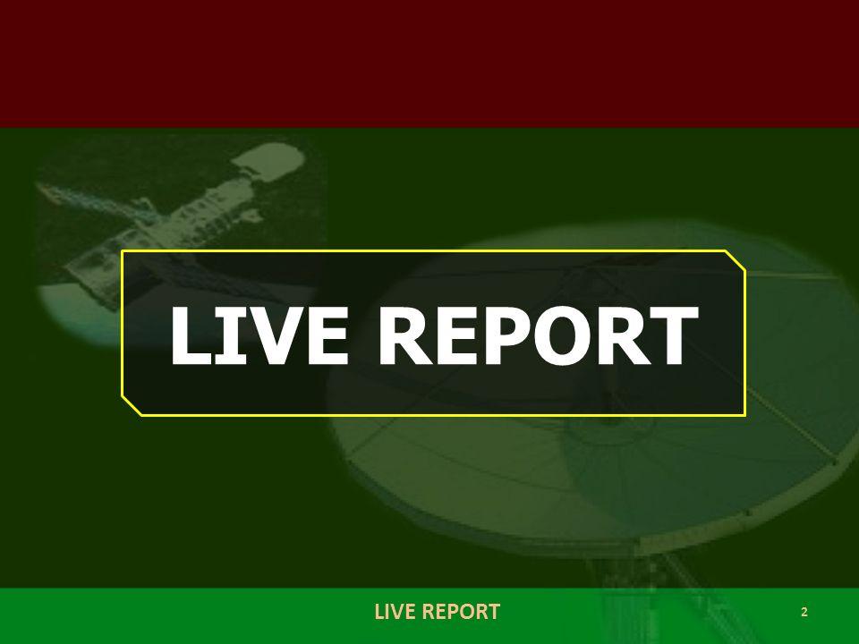 3 KIND OF LIVE REPORT LIVE NEWS LIVE MUSIC LIVE EVENT