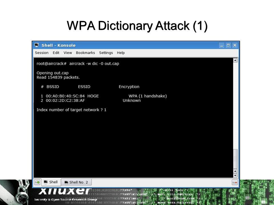 WPA Dictionary Attack (1)