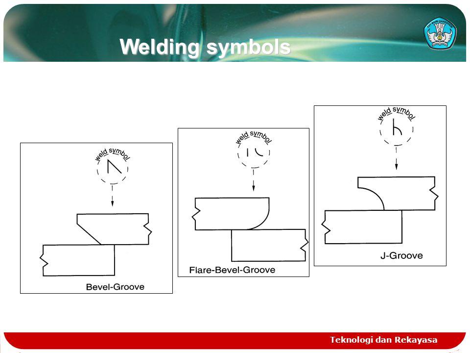 Teknologi dan Rekayasa Welding symbols