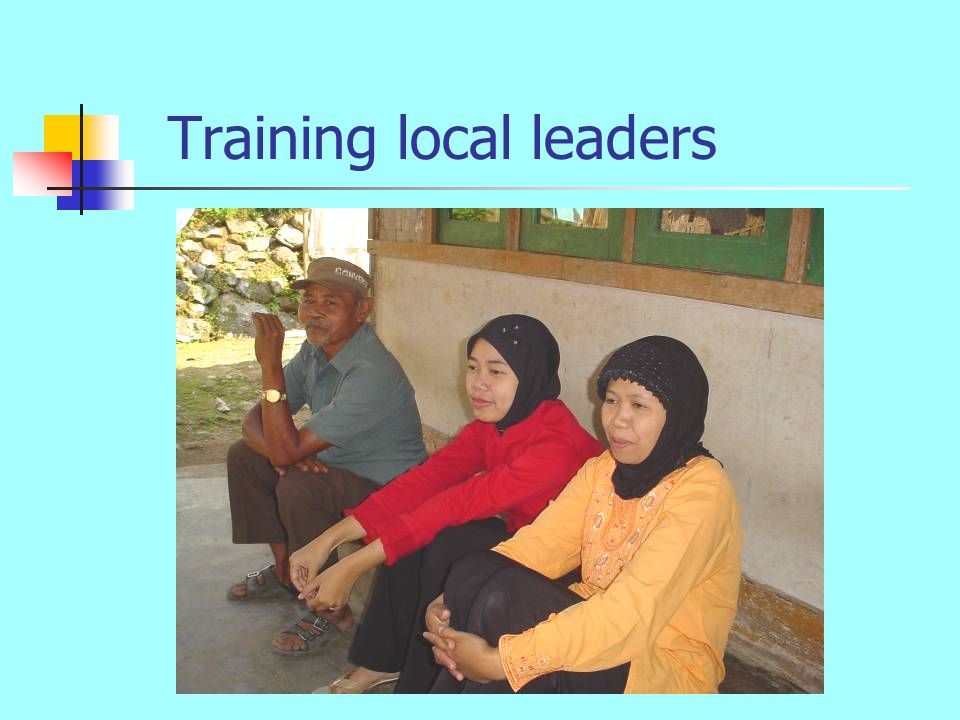 Training local leaders