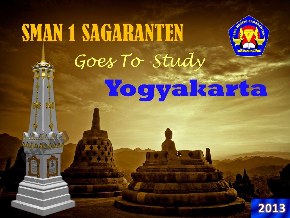 SMAN 1 SAGARANTEN Goes To Study Yogyakarta