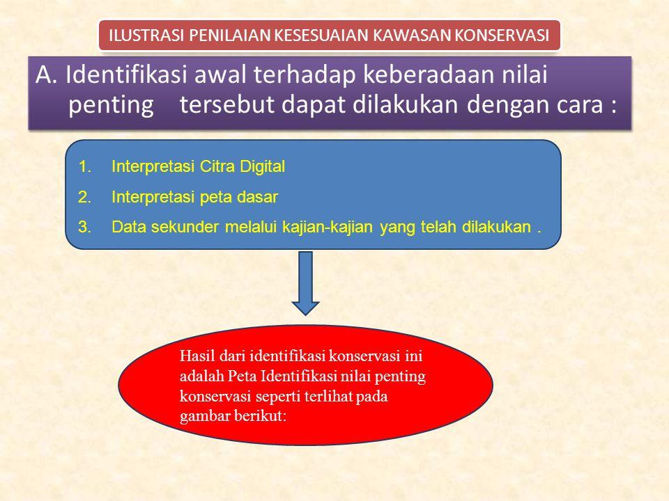 1.Interpretasi Citra Digital 2.Interpretasi peta dasar 3.Data sekunder melalui kajian-kajian yang telah dilakukan.