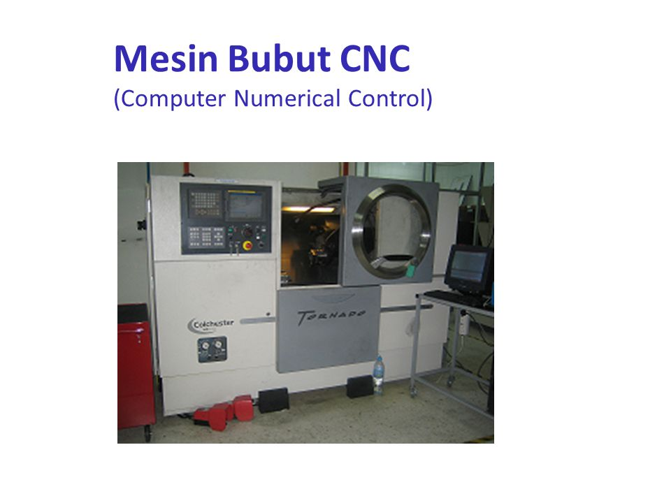 Mesin Bubut CNC (Computer Numerical Control)