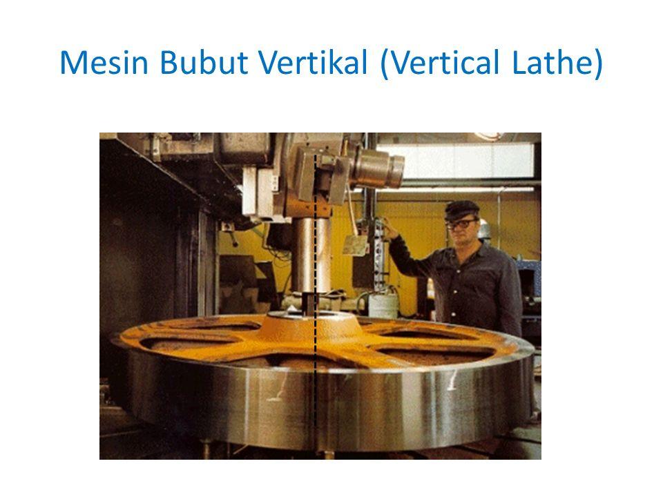 Mesin Bubut Vertikal (Vertical Lathe)