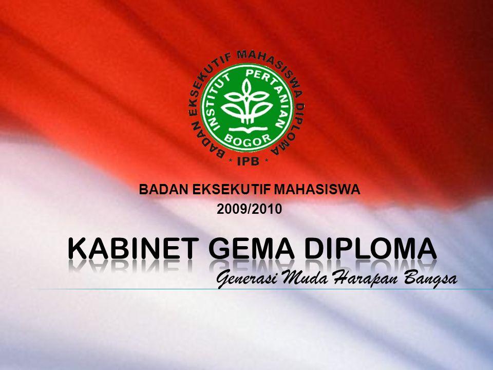 BADAN EKSEKUTIF MAHASISWA 2009/2010 Generasi Muda Harapan Bangsa