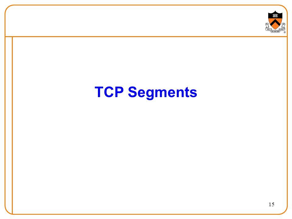 15 TCP Segments