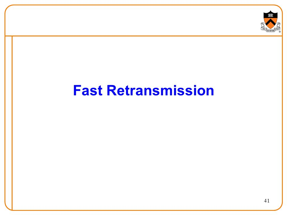41 Fast Retransmission