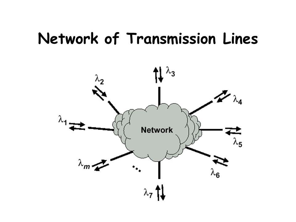 Network of Transmission Lines