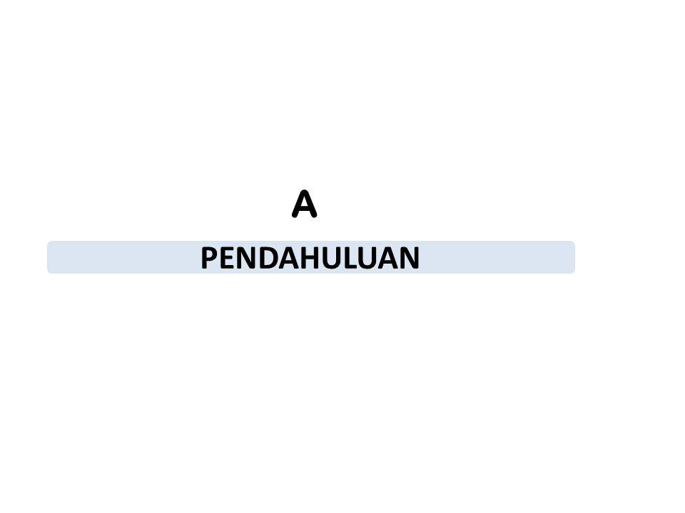 PENDAHULUAN A