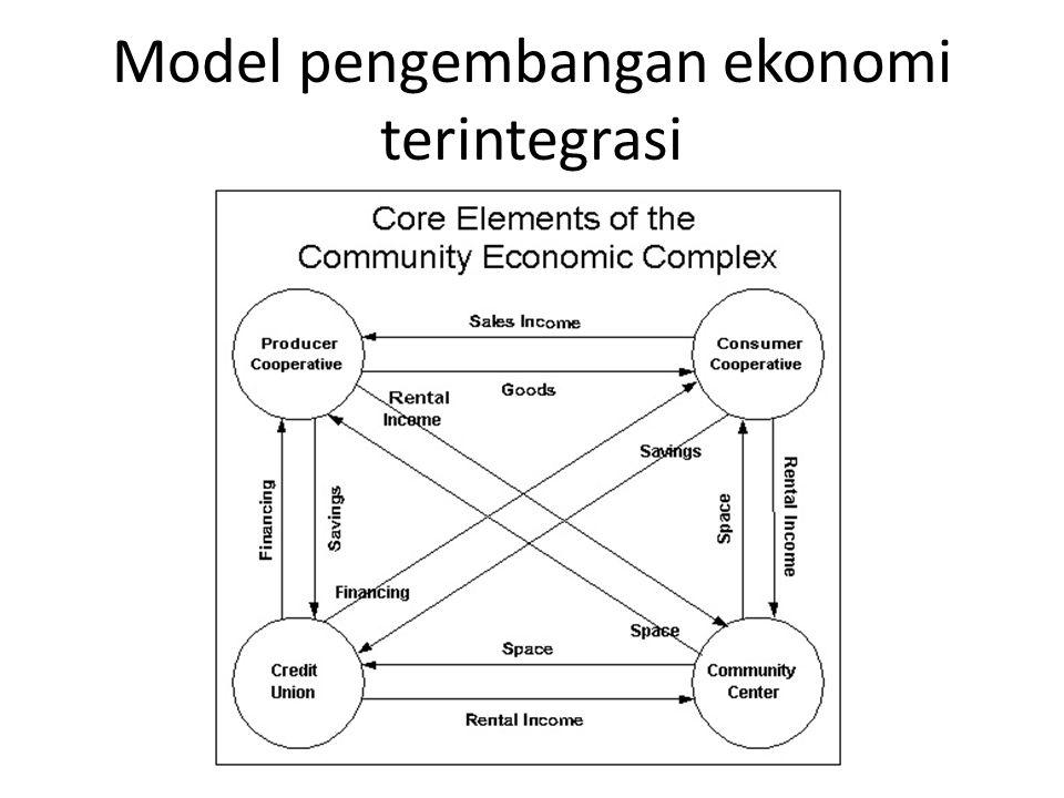 Model pengembangan ekonomi terintegrasi