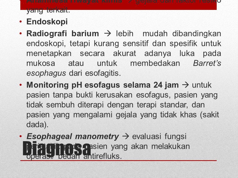 Etiologi : Resistensi Mukosa Mukus yang diproteksi kelenjar pensekresi mukus berperan dalam proteksi esofagus.