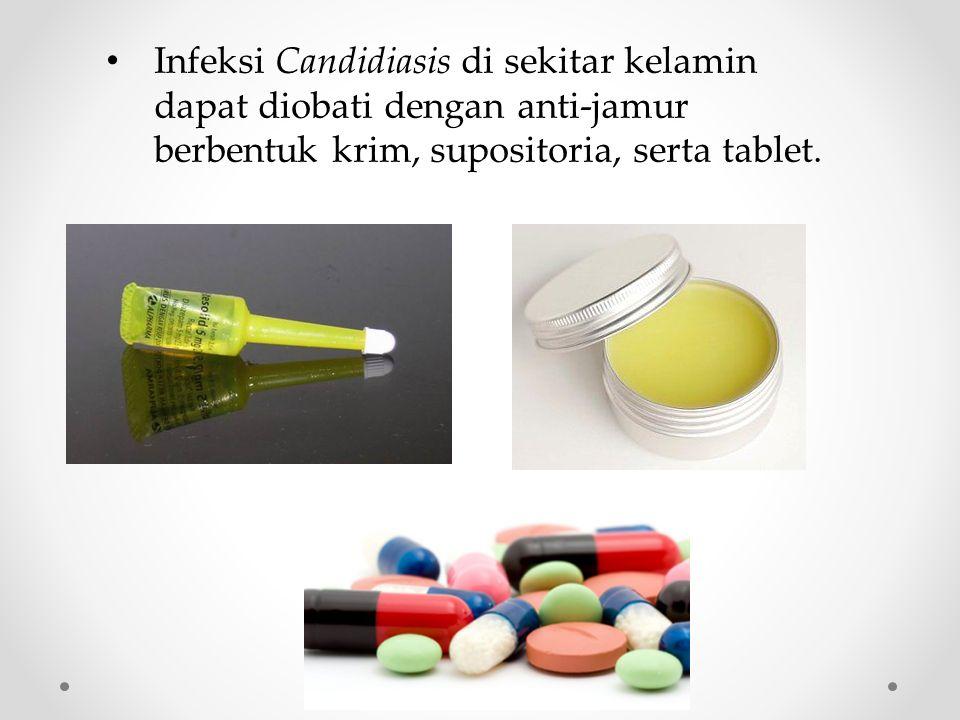 Candidiasis mulut dapat diobati dengan antijamur berbentuk obat kumur atau gel.