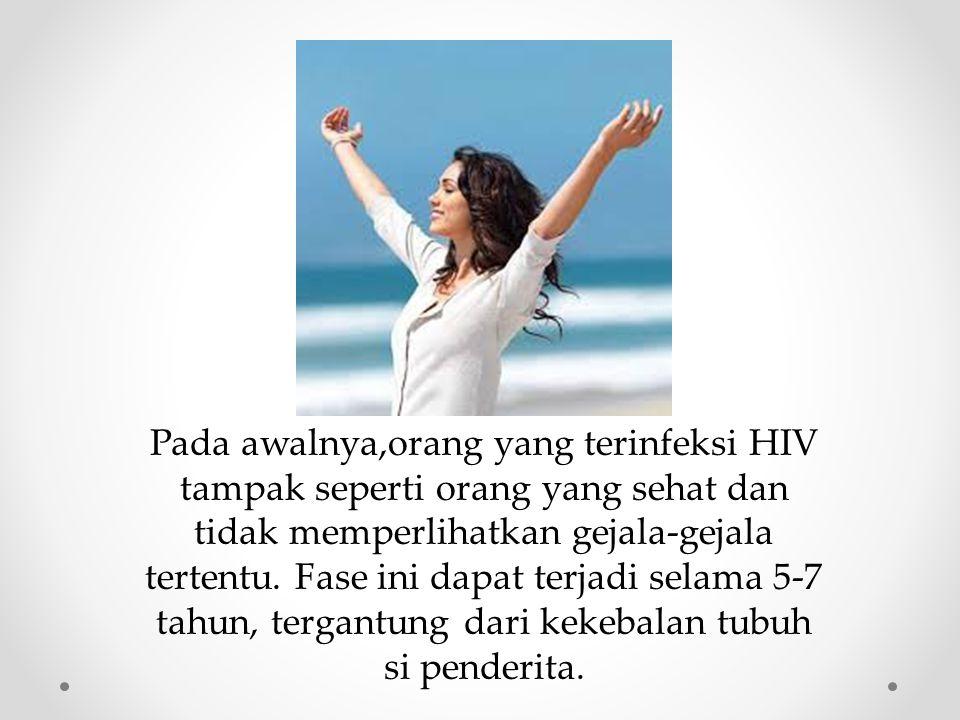 Acquired Immune Deficiency Syndrome (AIDS) sekumpulan gejala dan infeksi yang timbul karena rusaknya sistem kekebalan tubuh manusia akibat infeksi virus HIV