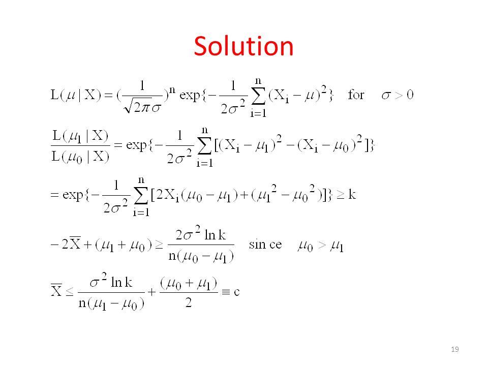 Solution 19