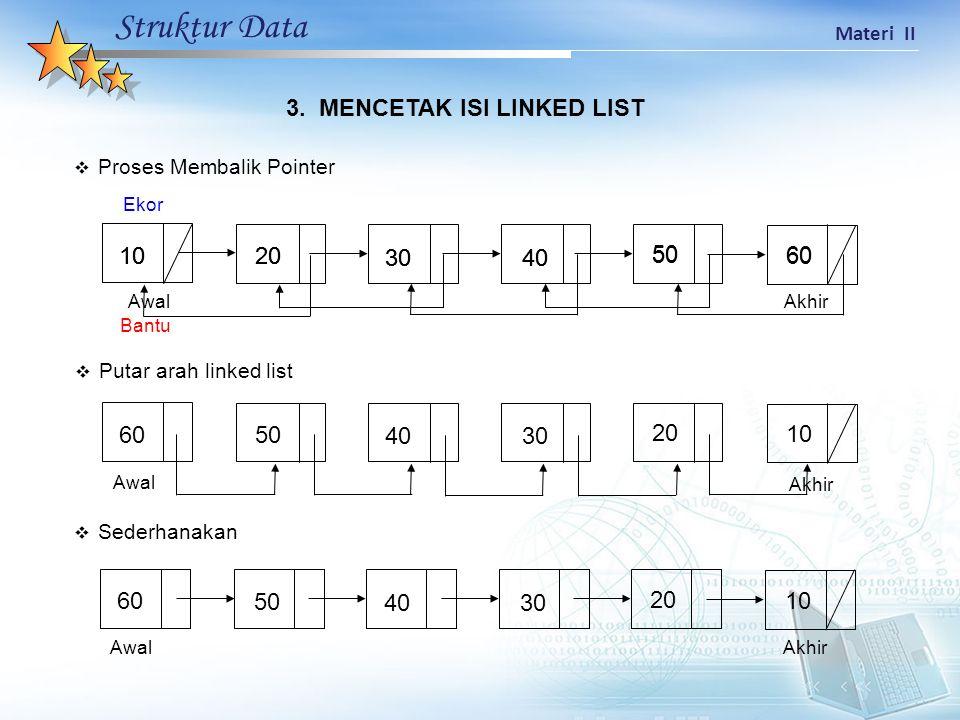 Struktur Data Materi II 3.