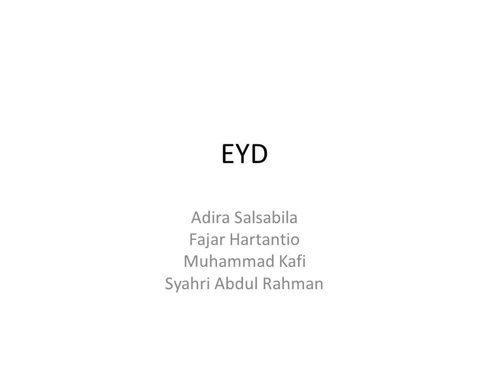 EYD Adira Salsabila Fajar Hartantio Muhammad Kafi Syahri Abdul Rahman