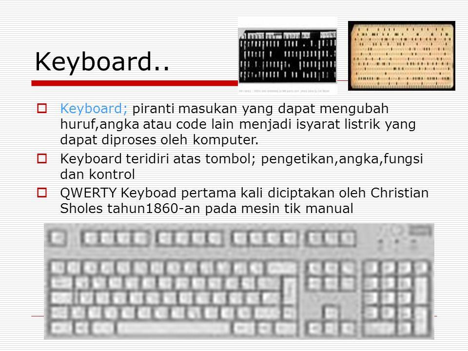 Keyboard..