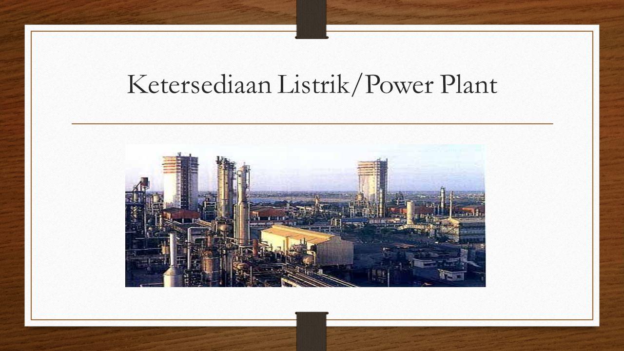 Ketersediaan Listrik/Power Plant