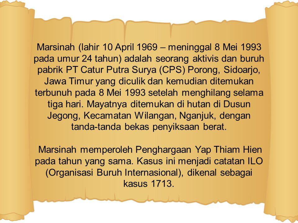 Pada tahun 1993, Gubernur KDH TK I Jawa Timur mengeluarkan surat yang berisi kenaikan gaji bagi karyawan perusahaan dan pabrik.