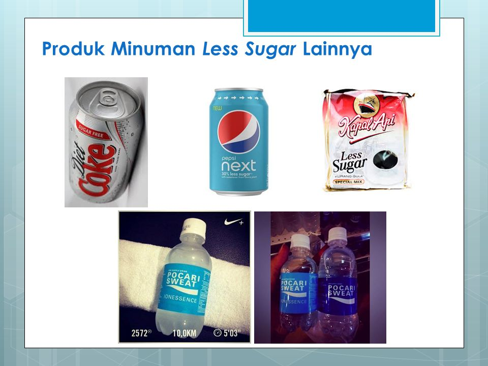 Produk Minuman Less Sugar Lainnya