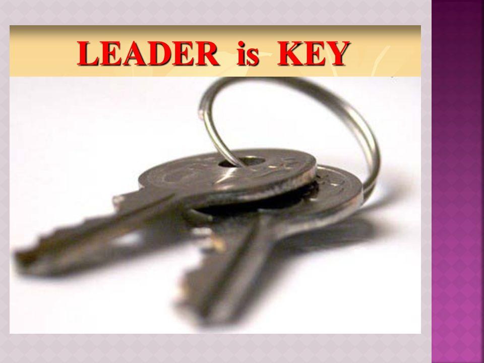  Pemimpin adalah inti dari manajemen.
