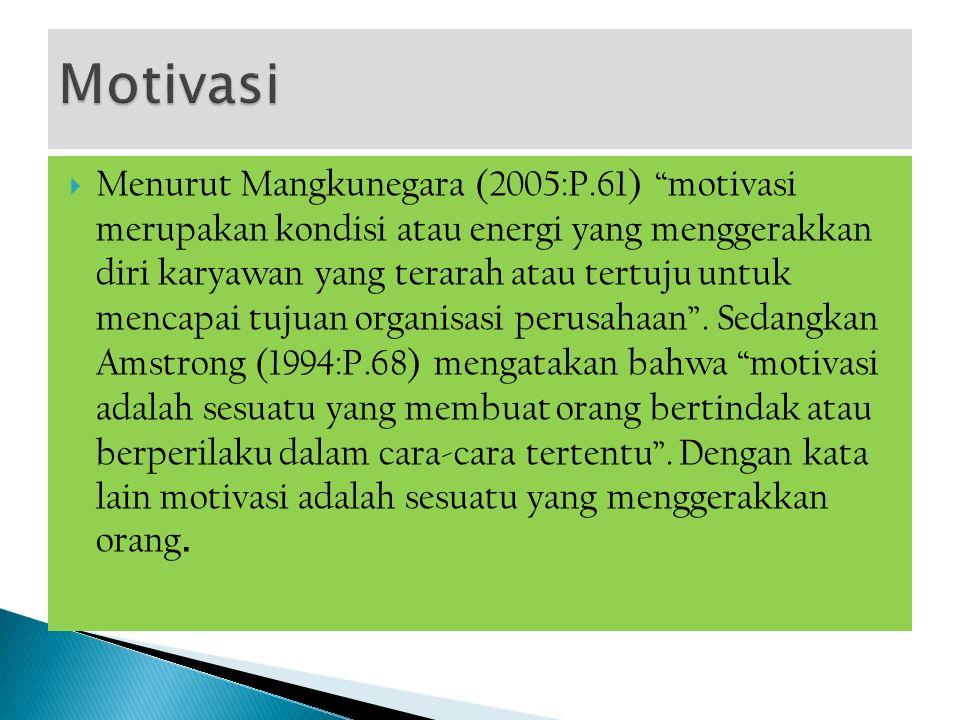  Dalam Kamus Besar Bahasa Indonesia (2005:770) kinerja diartikan sebagai: (1) sesuatu yang dicapai, (2) prestasi yang diperlihatkan, (3) kemampuan kerja.