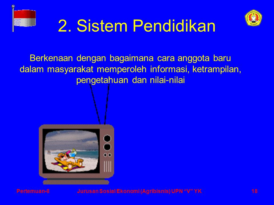 18Pertemuan-8Jurusan Sosial Ekonomi (Agribisnis) UPN V YK 2.