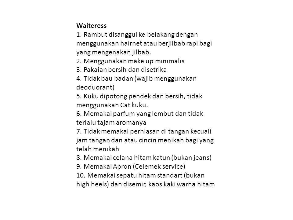 Waiteress 1.