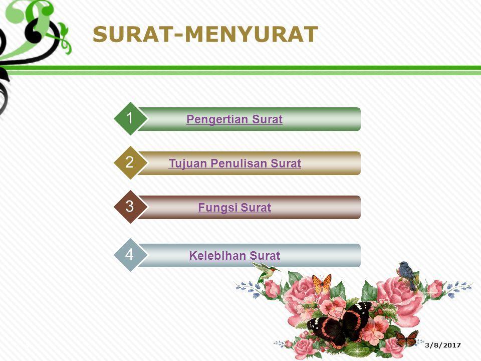 SURAT- MENYURAT 3/8/20171