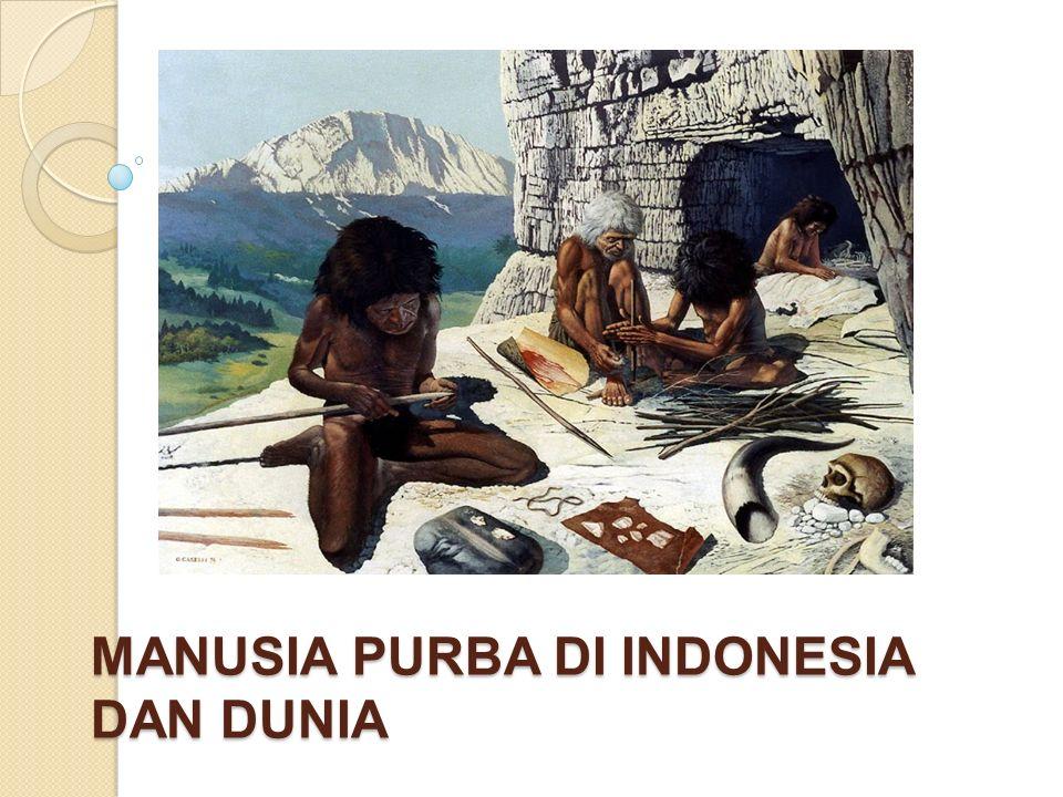 MANUSIA PURBA DI INDONESIA DAN DUNIA