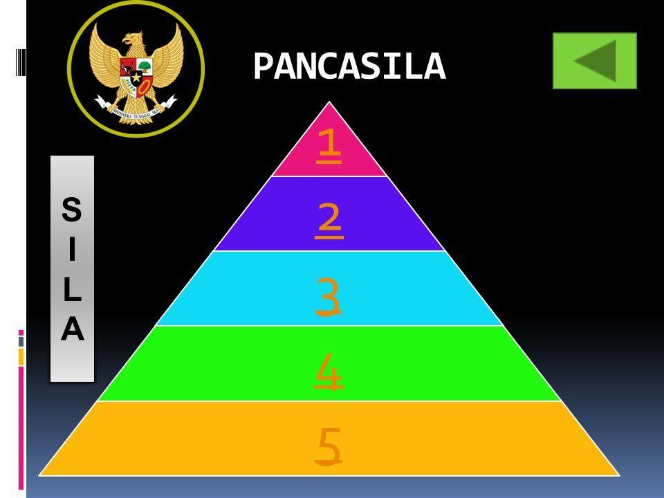 PANCASILA 1 2 3 4 5 SILASILA