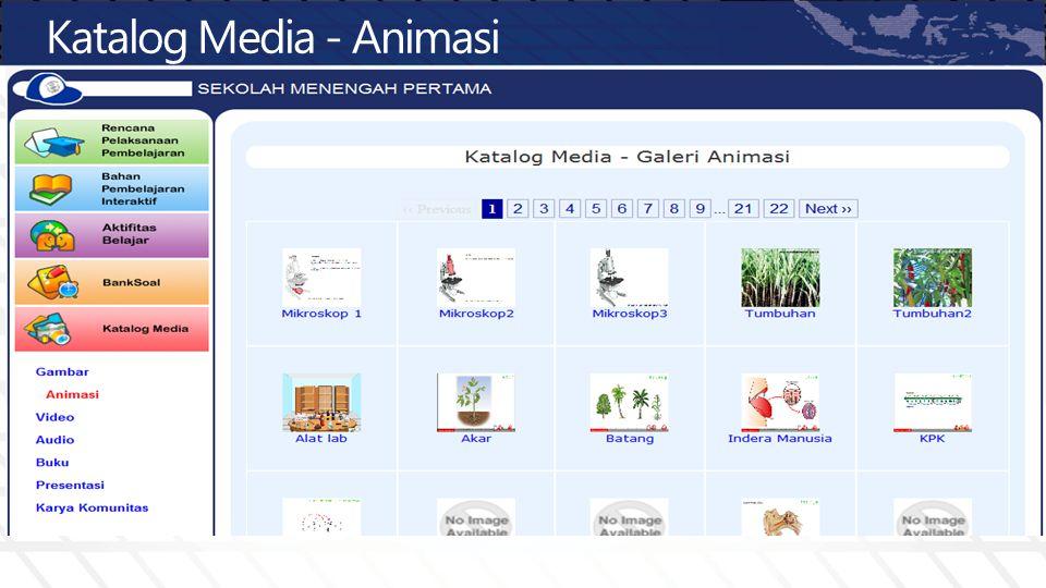 Katalog Media - Animasi