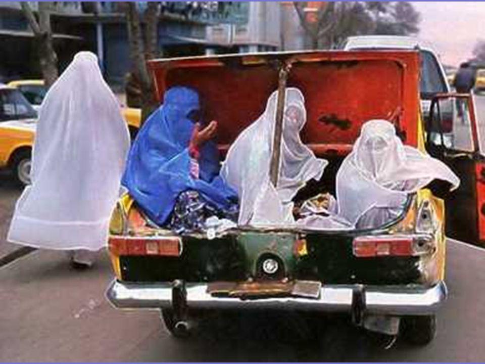 Wanita hanya boleh bepergian di bagasi taksi