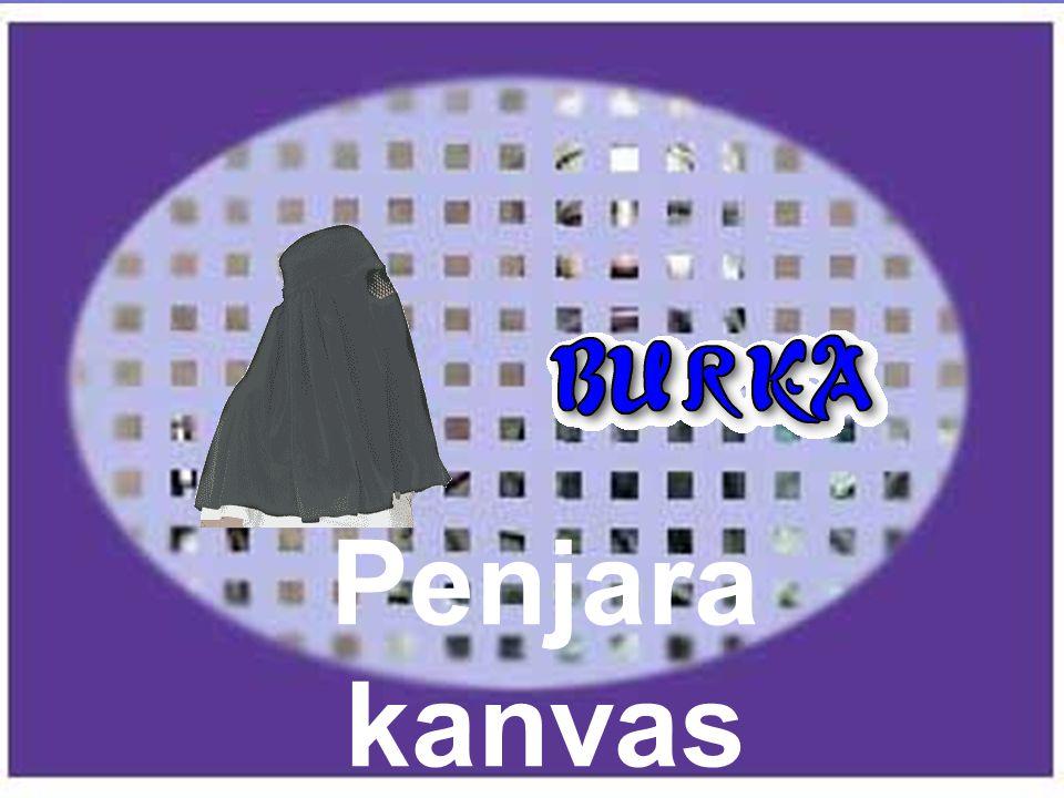 Dengan burka, seorang anak tidak bisa melihat mata ibunya, muka ibunya tidak ada, suaranya diubahkan, dan tidak ada sentuhan langsung