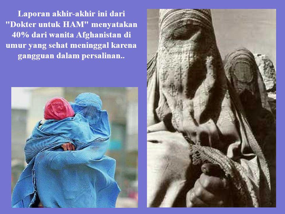 Melahirkan dengan burka