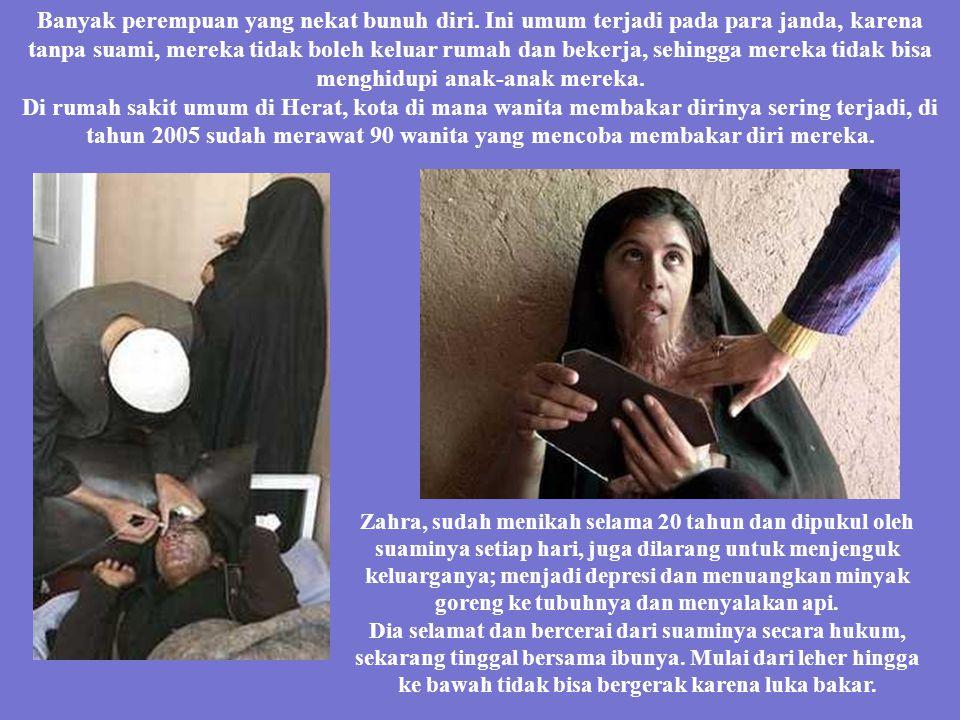 Ribuan janda yang hanya bisa mengemis di jalanan, atau melacurkan dirinya, atau menjadi gila, atau bunuh diri; semua terjadi karena hukum melarang mer
