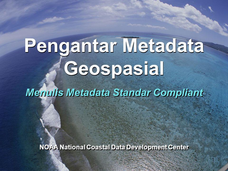 Metadata sebagai Komponen Data 12