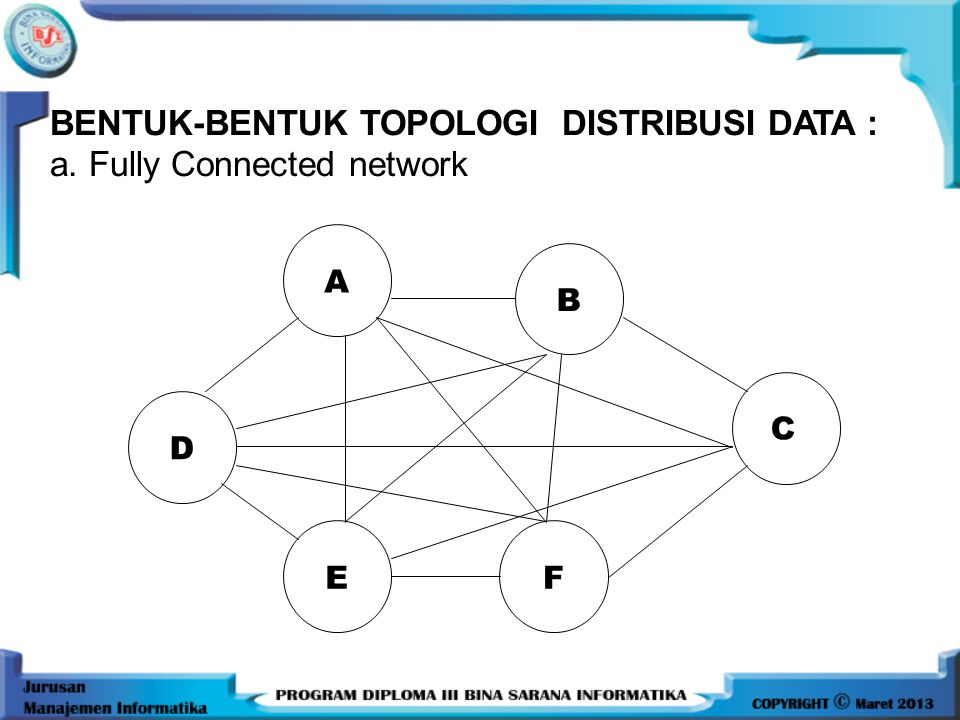 •Point utama dari definisi basis data terdistribusi adalah sistem terdiri dari data yang secara fisik di distribusikan pada beberapa site yang terhubu