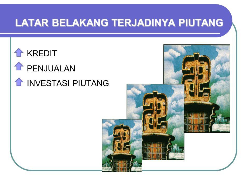 5 C 3.COLLATERAL Dicerminkan oleh aktiva pelanggan yang dikaitkan, jaminan bagi keamanan kredit.