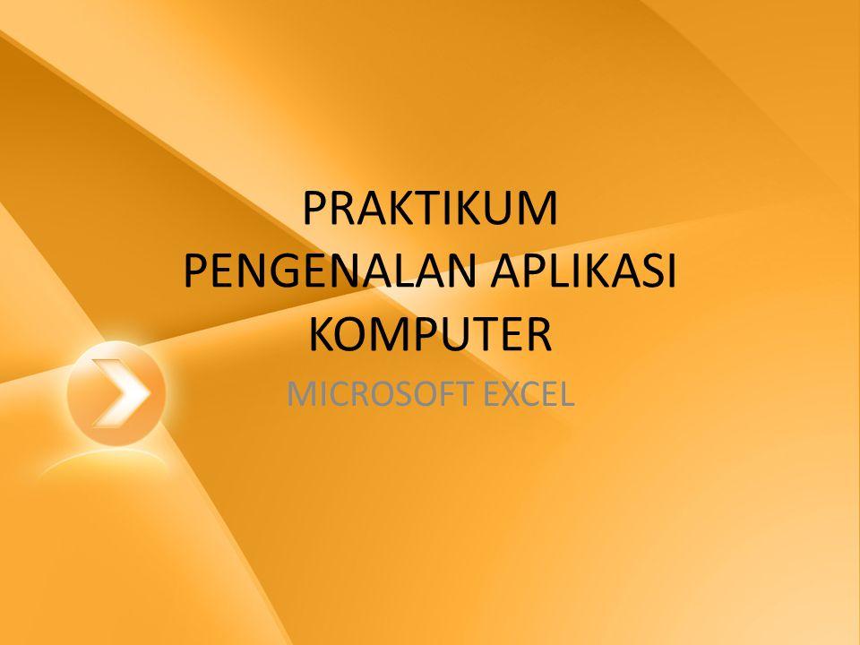 WORKBOOK • Membuat workbook baru: – Klik Microsoft Office Toolbar – Klik New – Pilih Blank Document