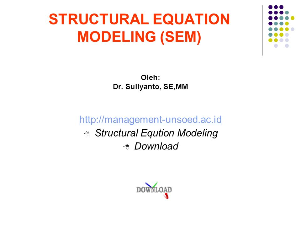 Output Structural Equational Model Unstandardized