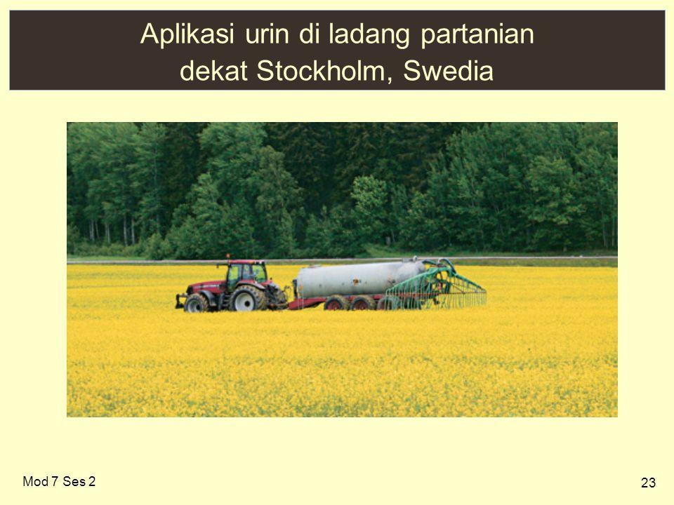 23 Aplikasi urin di ladang partanian dekat Stockholm, Swedia Mod 7 Ses 2