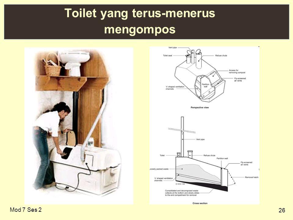 26 Toilet yang terus-menerus mengompos Mod 7 Ses 2