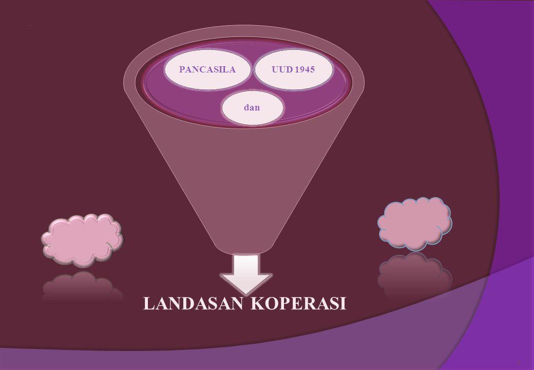 Definisi koperasi menurut UU RI No.25 Tahun 1992  Koperasi adalah sebagai badan usaha yang beranggotakan orang seorang atau badan hukum koperasi deng