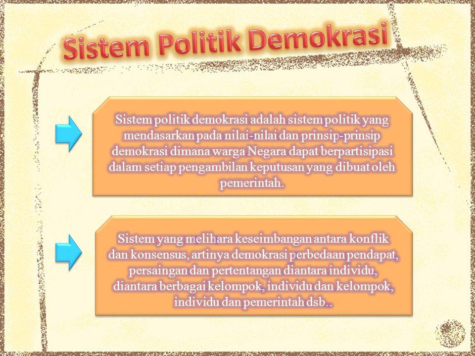 Tahapan demokratisasi Tahapan demokratisasi