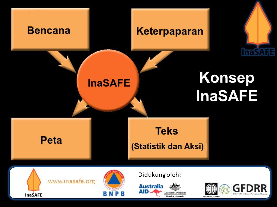 Konsep InaSAFE www.inasafe.org Didukung oleh: