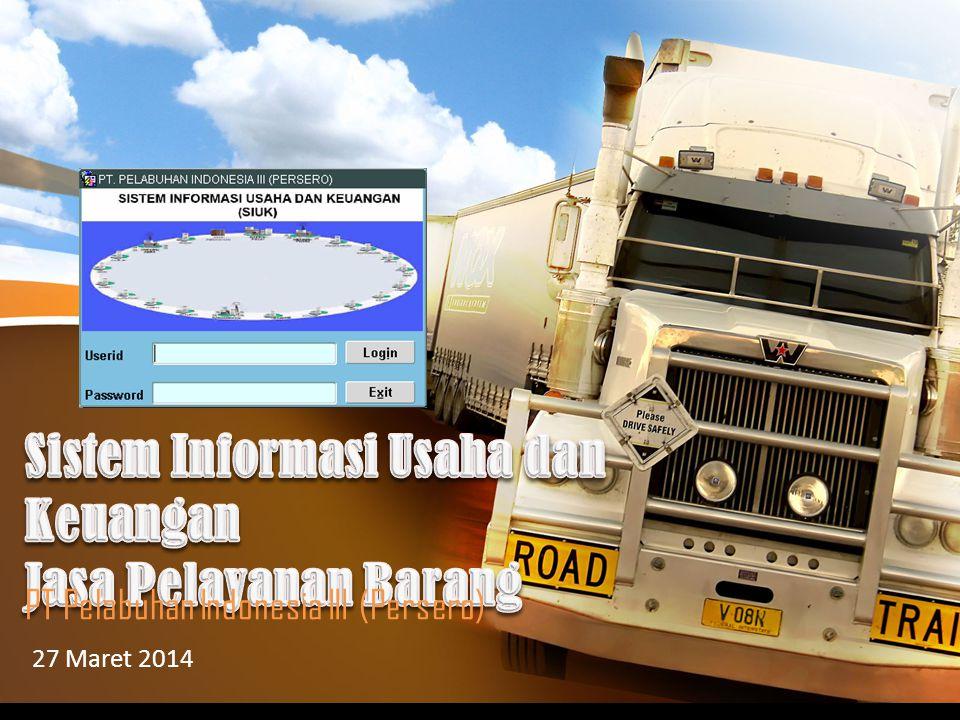 PT Pelabuhan Indonesia III (Persero) 27 Maret 2014